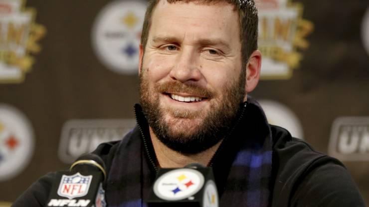Ben Roethlisberger ist mit Pittsburgh bereits für die NFL-Playoffs qualifiziert