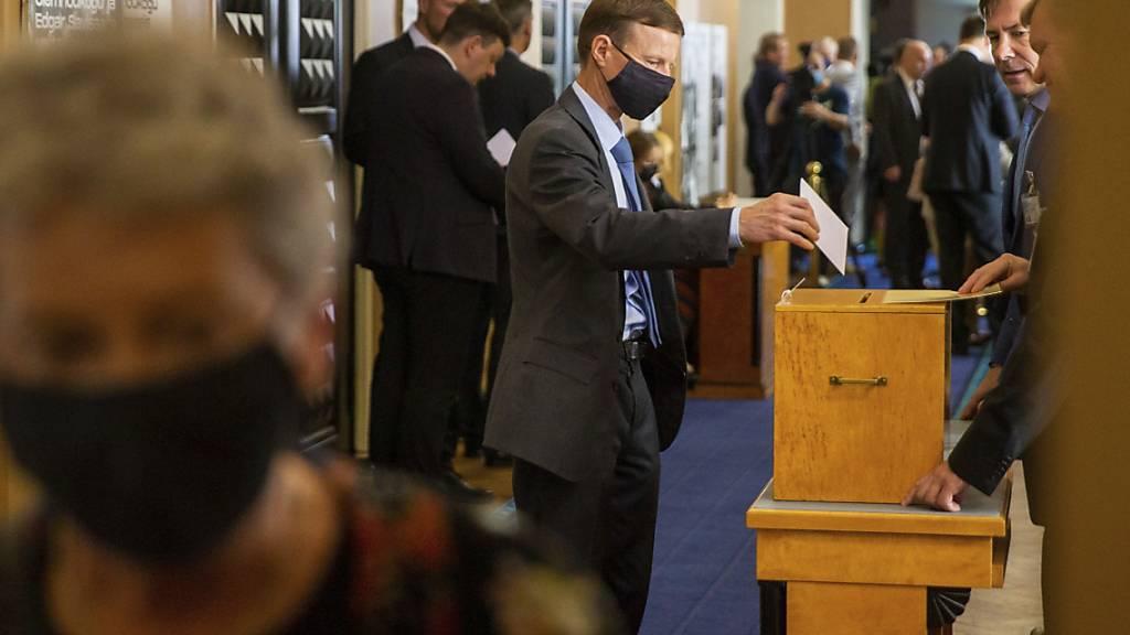 Zweite Runde bei Präsidentenwahl in Estland begonnen