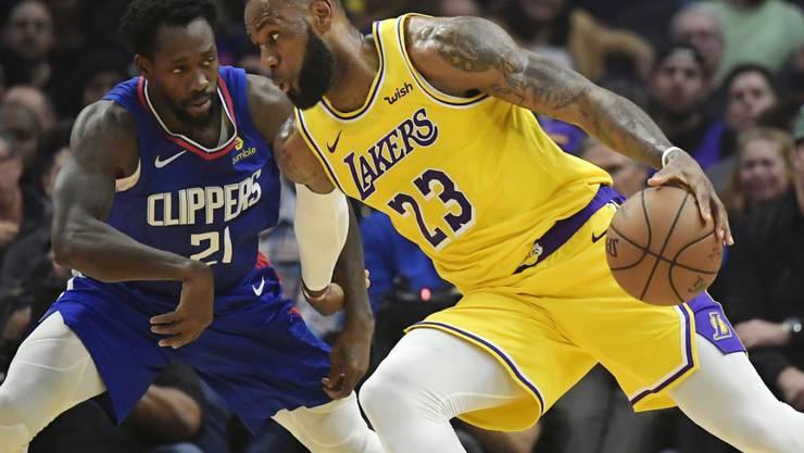 LeBron James is back: Der Superstar der Los Angeles Lakers kehrte nach einer Verletzungspause zurück