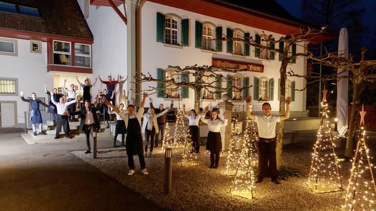 Kölliken, 7. Dezember: Das Gasthaus Bären in Kölliken erhielt von Gault-Millau erstmals 13 Punkte.