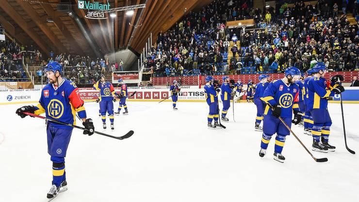 Volle Ränge, leere Kasse: Für den HC Davos war die Champions Hockey League finanziell keine Erfolgsgeschichte.