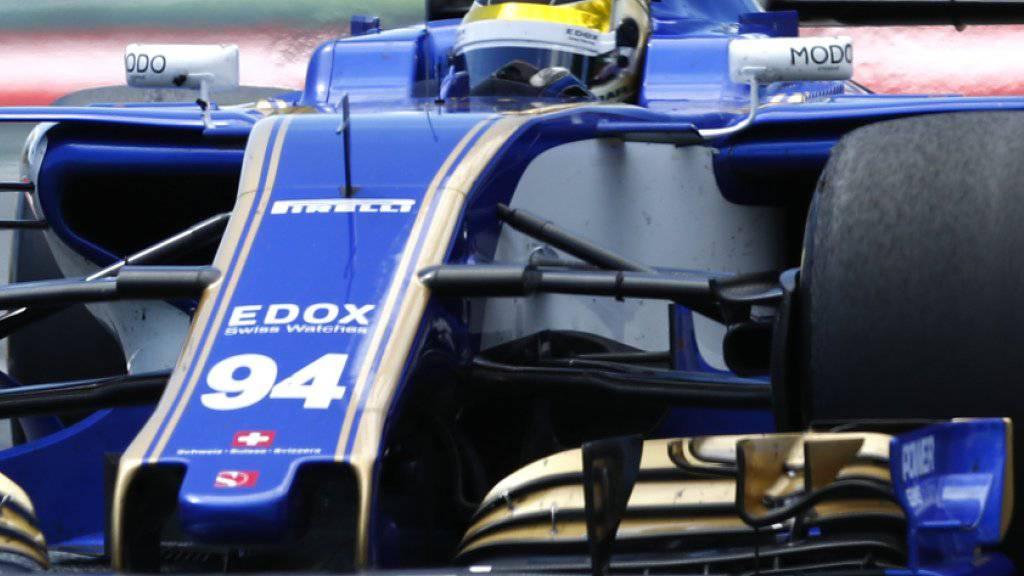 Pascal Wehrlein sichert Sauber dank Rang 8 vier WM-Punkte