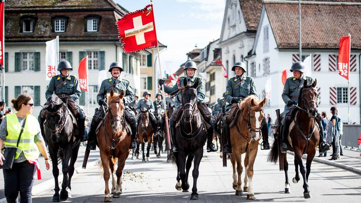 Tag des Pferdes 2018 in Solothurn