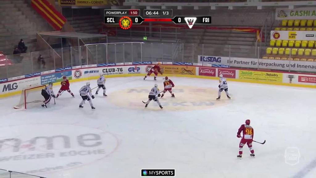 SCL Tigers vs. Fribourg-Gottéron 3:4 - Das waren die Highlights