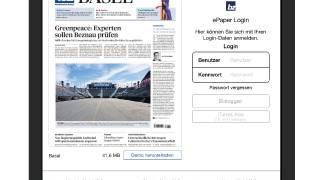 Die neuen E-Paper-Apps für die BZ Basel und die Basellandschaftliche Zeitung sind da.