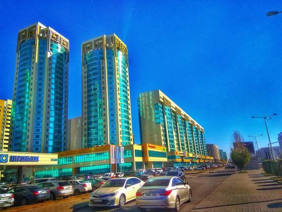 Eindrücke aus Astana.