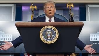 Auch Trump hat seine positiven Seiten. Das sei nun wissenschaftlich erwiesen, sagt Willi Näf.