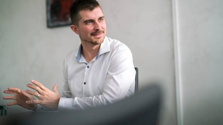 """""""Nutz die Chance"""": Yannick Erb kam eher überraschend in den EHCO-Verwaltungsrat."""