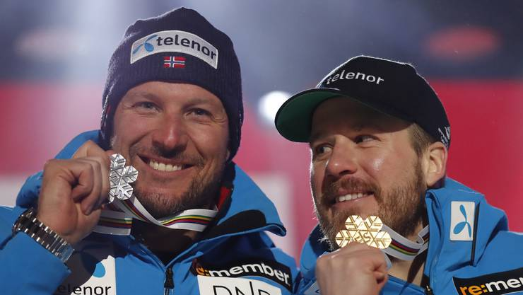 Silber: Aksel Lund Svindal.