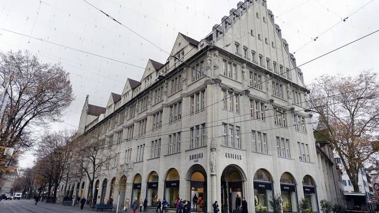 Das Grieder-Haus beim Paradeplatz in Zürich.