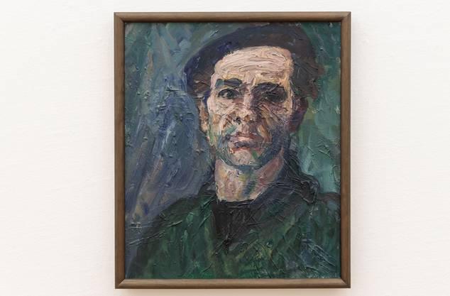 Ein Selbstbildnis des Künstlers Heinz Schwarz aus dem Jahr 1963.