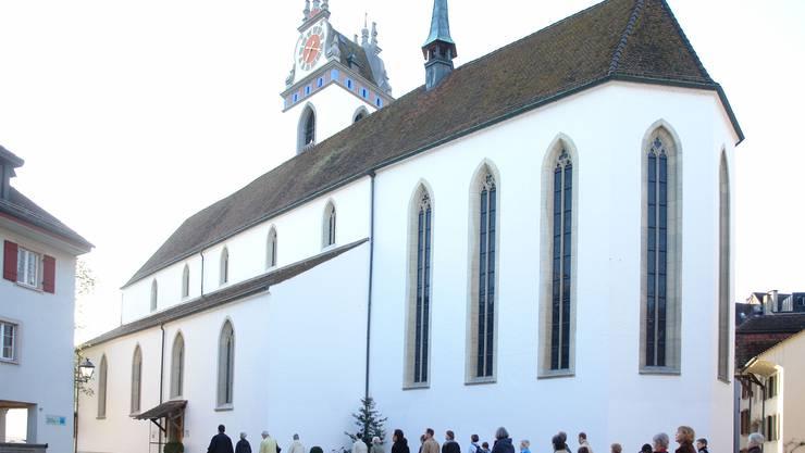 as neue Weihnachtsspiel «De Himmel chunt uf d'Ärde» erklingt im Familiengottesdienst um 17 Uhr in der Stadtkirche Aarau.