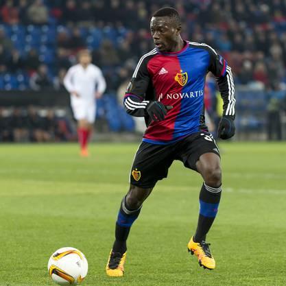 Adama Traoré hatte heute starken Offensivdrang.