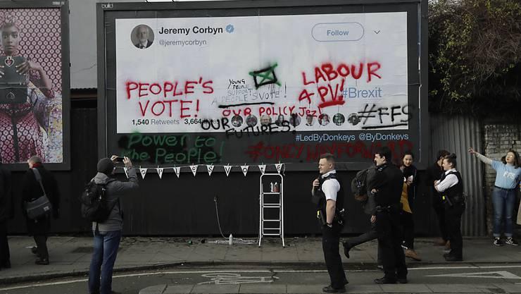 Des Volkes Stimme: Fast vier Millionen Unterstützer hat eine Online-Petition in Grossbritannien bereits erhalten, um in der EU zu bleiben. (Symbolbild)