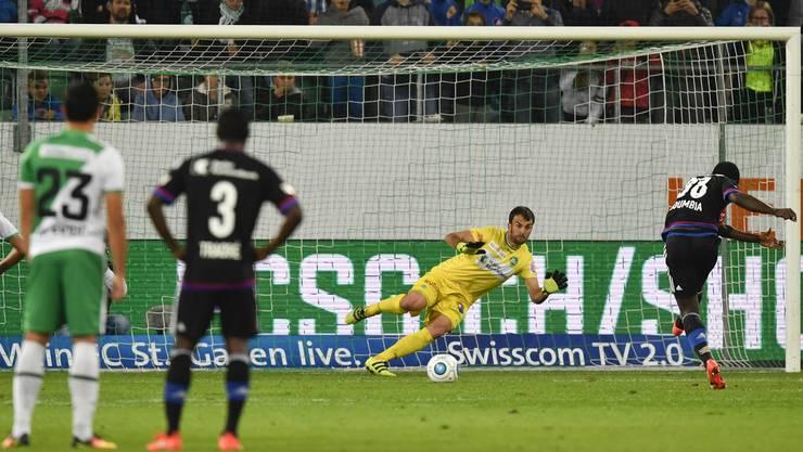 Der FC Basel trifft in der 26. Runde der Super League auf den FC St. Gallen. Die Basler konnten die beiden bisherigen Duelle mit 3:1, respektive mit 1:0, für sich entscheiden.