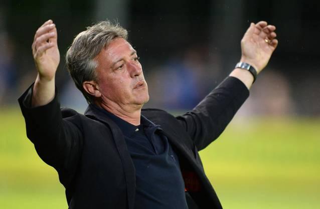 Nach 15 Spielen reisst die Serie für Trainer Schällibaum und den FC Aarau.