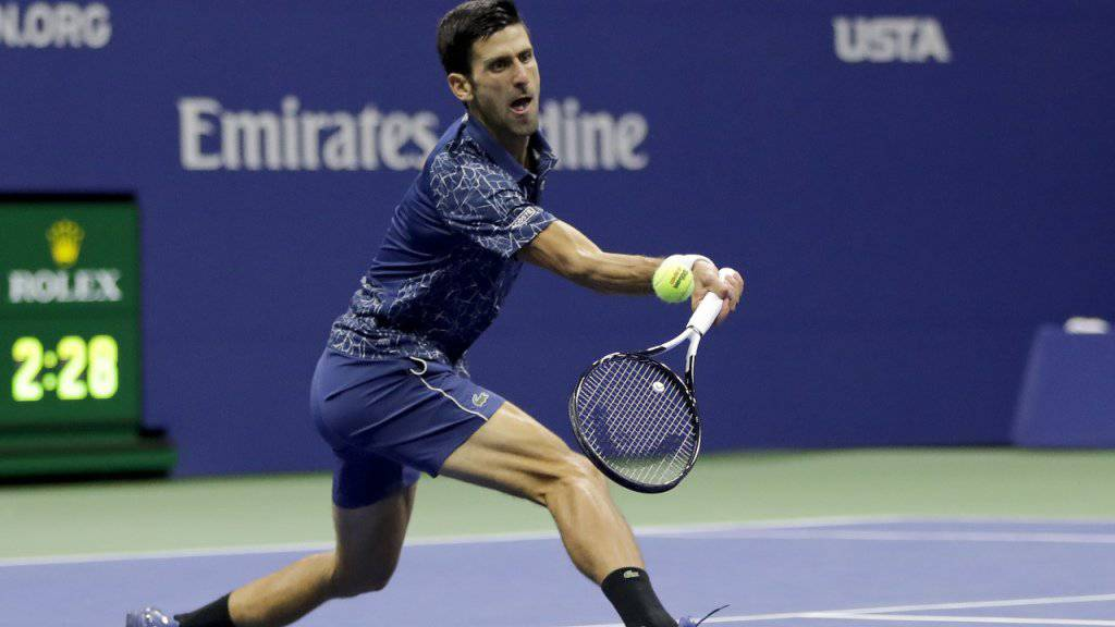 Novak Djokovic gewann am US Open in New York seinen 14. Grand-Slam-Titel