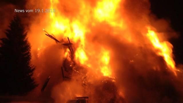 Brandstifter Kaiseregg gefasst