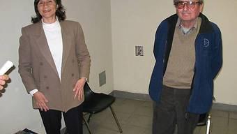 Ein Bild des Guerilla-Paares aus dem Jahr 2004
