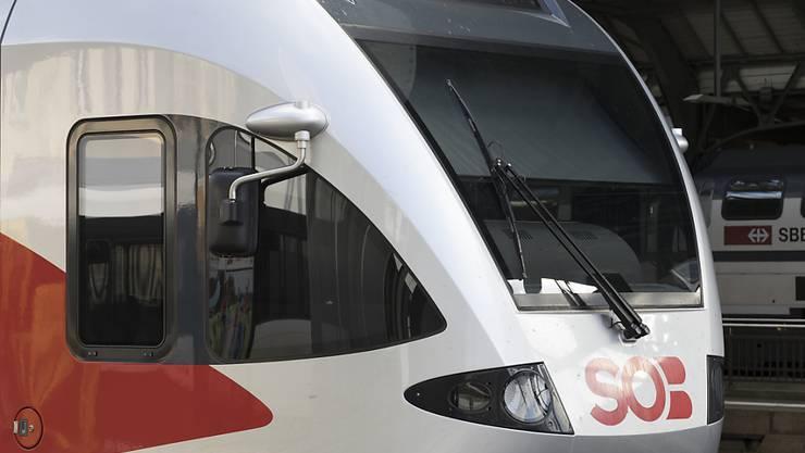 Der Zugbauer Stadler Rail kann 55 Züge seiner Flirt-Reihe nach Schleswig Holstein liefern. Im Bild ein Flirt-Zug der Südostbahn