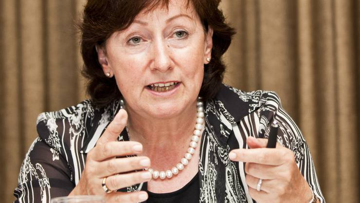 Sylvia Flückiger, SVP-Nationalrätin aus Schöftland: bald doch noch Regierungsratskandidatin?