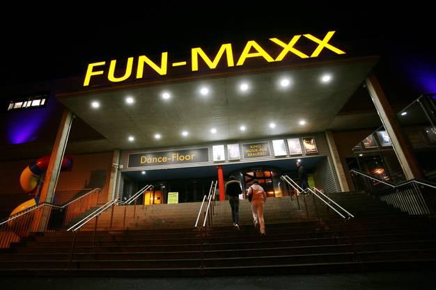 Der Vergnügungs-Tempel «Fun-Maxx» machte keine schwarze Zahlen und wurde 2007 liquidiert.