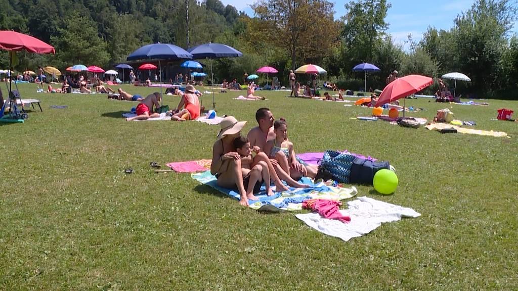 Nach kühlem Sommeranfang: Zürcher geniessen den Hitzetag