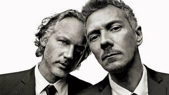 Richard Dorfmeister (l.) und Peter Kruder sind seit 25 Jahren ein musikalisches Team.