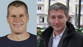 Sven Koller (SP) und Markus Erni (SVP).