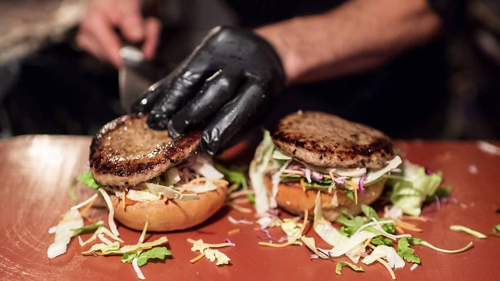 Burger mit oder ohne Fleisch? (Archivbild)