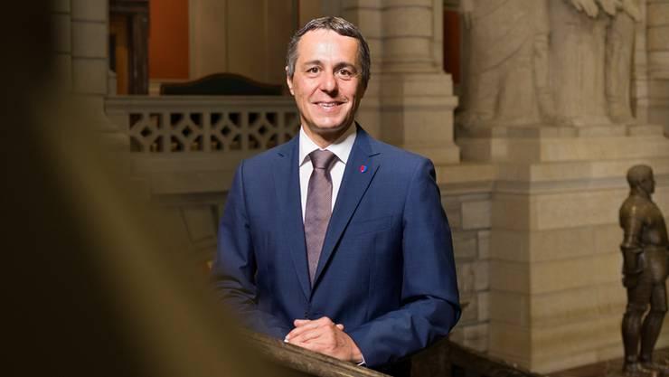 Ignazio Cassis: «Es gibt hitzige Sitzungen im Bundesrat, aber auch eher langweilige.»
