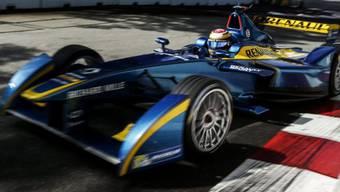 Der Schweizer Formel-E-Fahrer Buemi in einem Renault (Archiv)