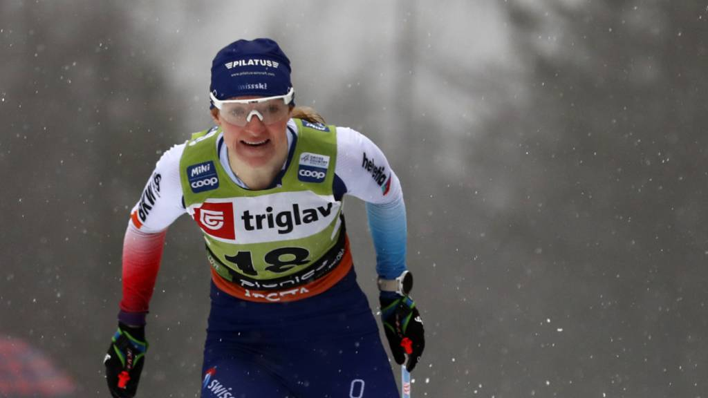Sprintete als Schweizer Schlussläuferin auf den 3. Platz: Nadine Fähndrich