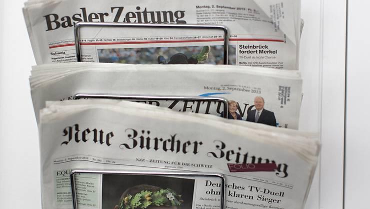 Bei den Kommentatoren der Schweizer Tageszeitungen stand die erneute und deutliche Niederlage der SVP im Fokus. (Symbolbild)