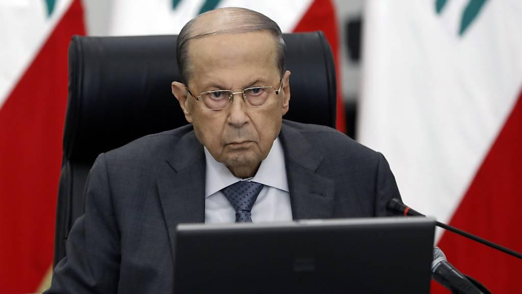 Präsident des Libanons: «Probleme» stehen Frieden mit Israel im Weg