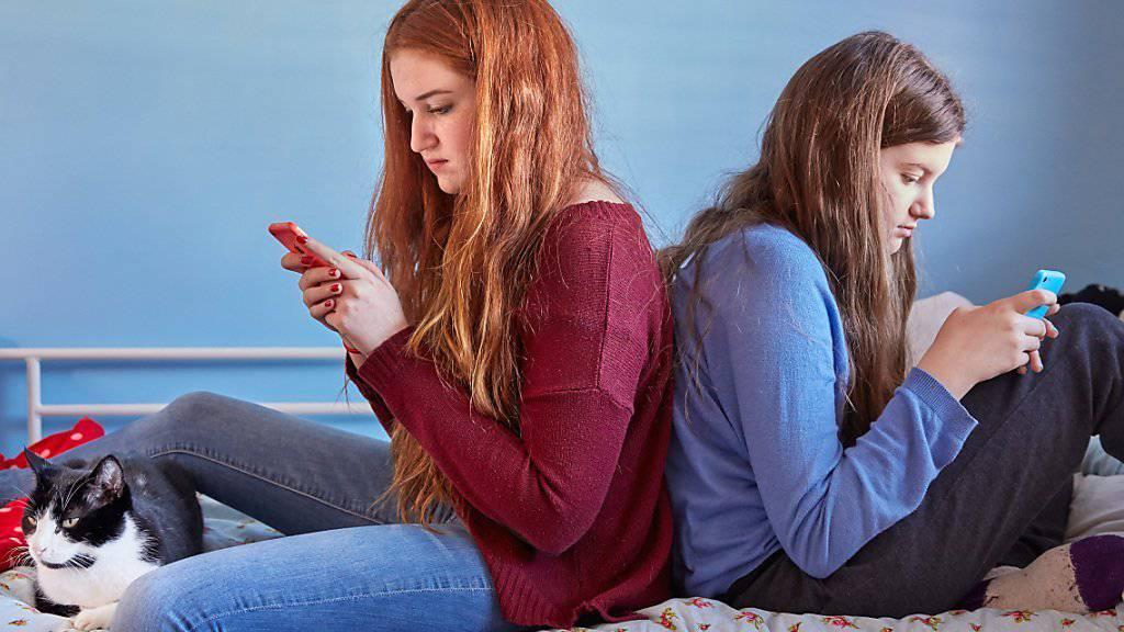 Unsere Jugend ist immer online - und gestresst