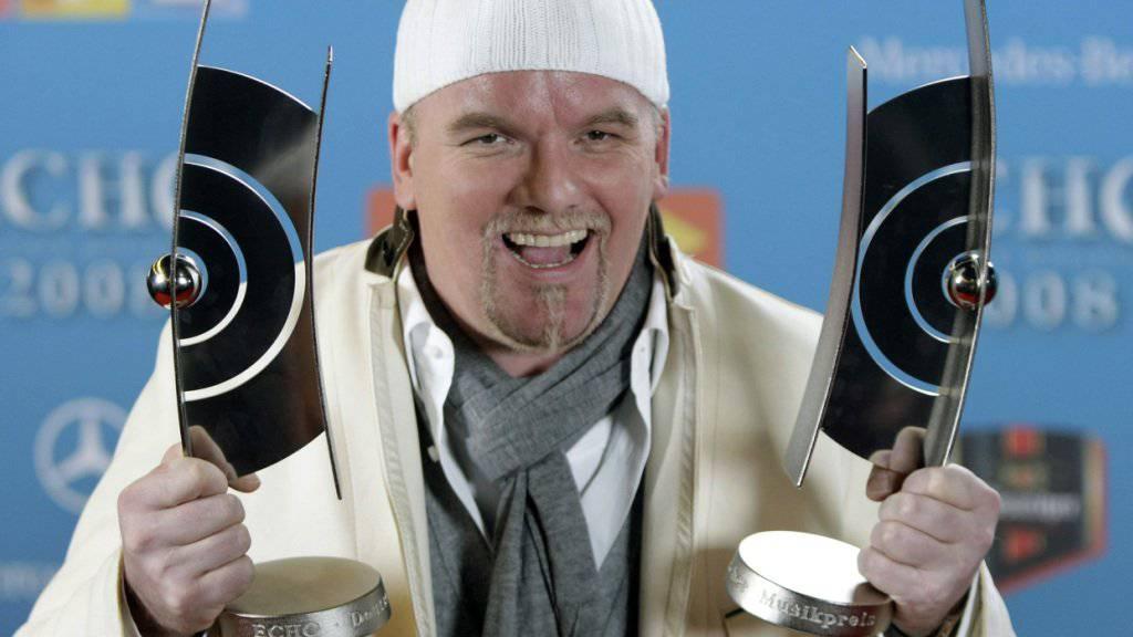 Der österreichische Sänger DJ Ötzi lobt in einem Interview seine eigenen Fähigkeiten und zeigt sich stolz über sein «Best-of»-Album. (Archivbild)