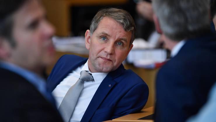 """Thürings AfD-Chef: Sein """"Flügel"""" gilt nun offiziell als rechtsextrem."""
