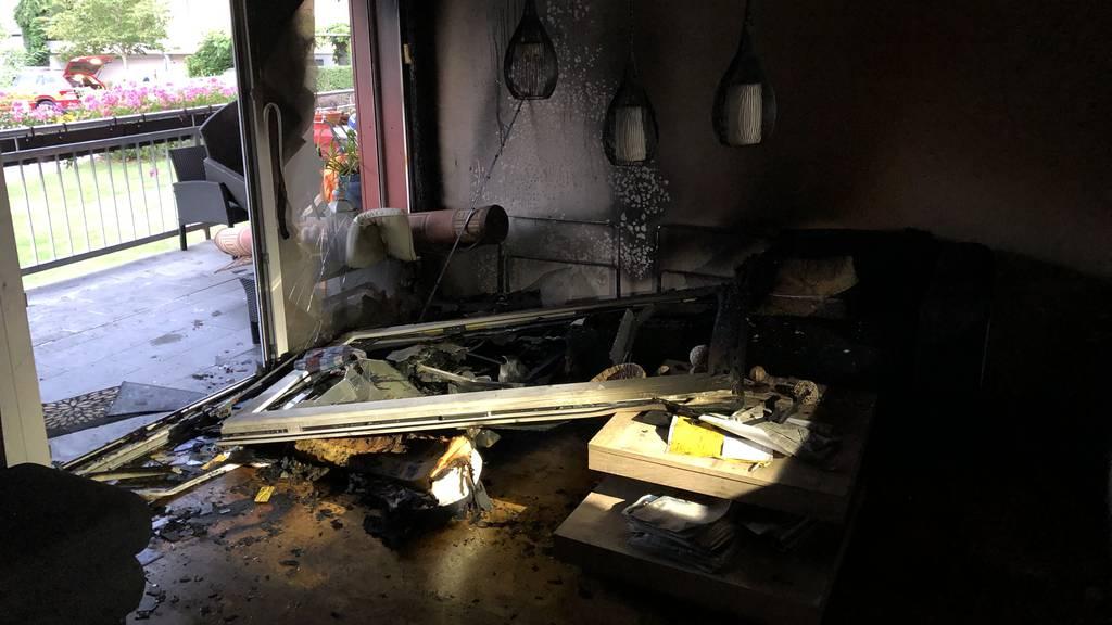 Brand wegen heissem Öl in Bratpfanne – Mann erleidet Verbrennungen