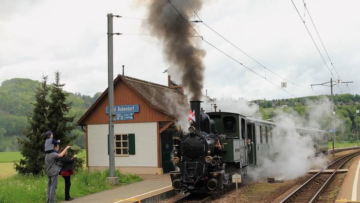 Das historische Dampfzügli der Waldenburgerbahn soll auch in Zukunft zwischen Liestal und Waldenburg verkehren können. (Archivbild)