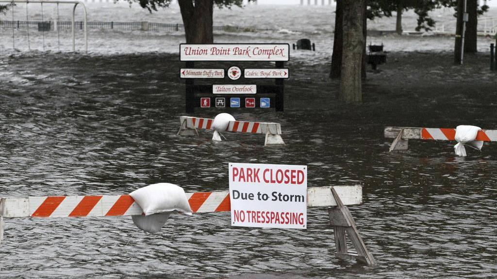 Hurrikan «Florence» wird schwächer