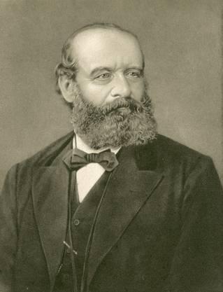 Alfred Escher (1819–1882) Der Eisenbahn- und Wirtschaftsmagnat war 1834 Centralpräsident.