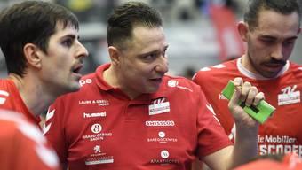 Zoltan Majeris Team musste gegen Bern eine neuerliche Niederlage hinnehmen.