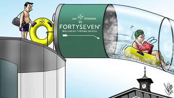 20 Karikaturen aus dem Badener Jahr 2020