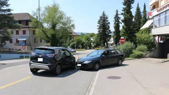 Kollision zwischen zwei Personenwagen - Zeugenaufruf