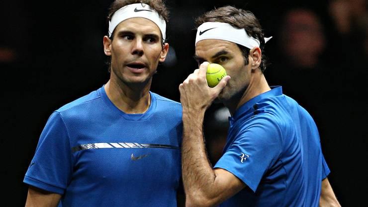 Rafael Nadal und Roger Federer sind in ihren Rollen als ATP-Spielerräte gefordert, die grosse Tennis-Familie wieder zu versöhnen.