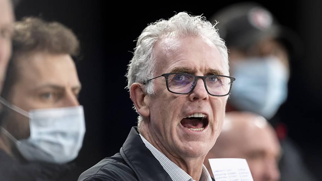 Lausannes Cheftrainer Craig MacTavish musste sich über die Darbierung seiner Mannschaft wohl ärgern