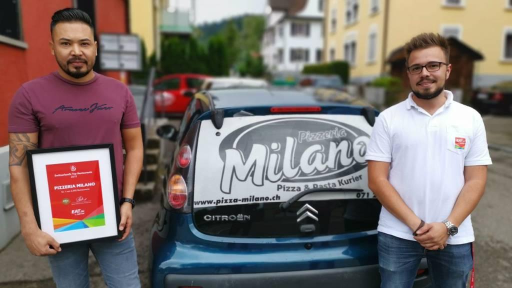 Der beste Lieferservice der Schweiz ist in St.Gallen