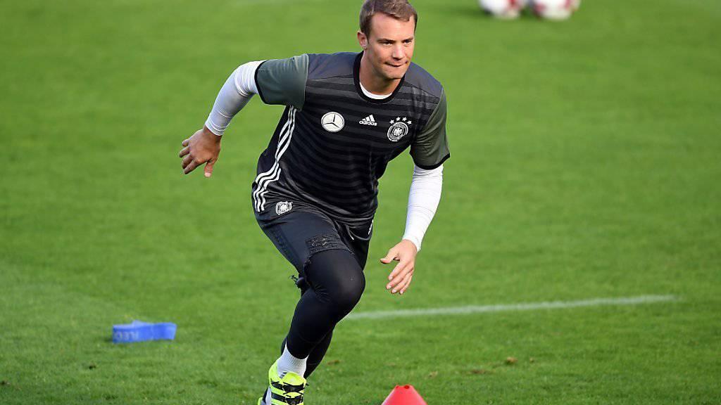 Manuel Neuer ist neuer Captain der deutschen Nationalmannschaft