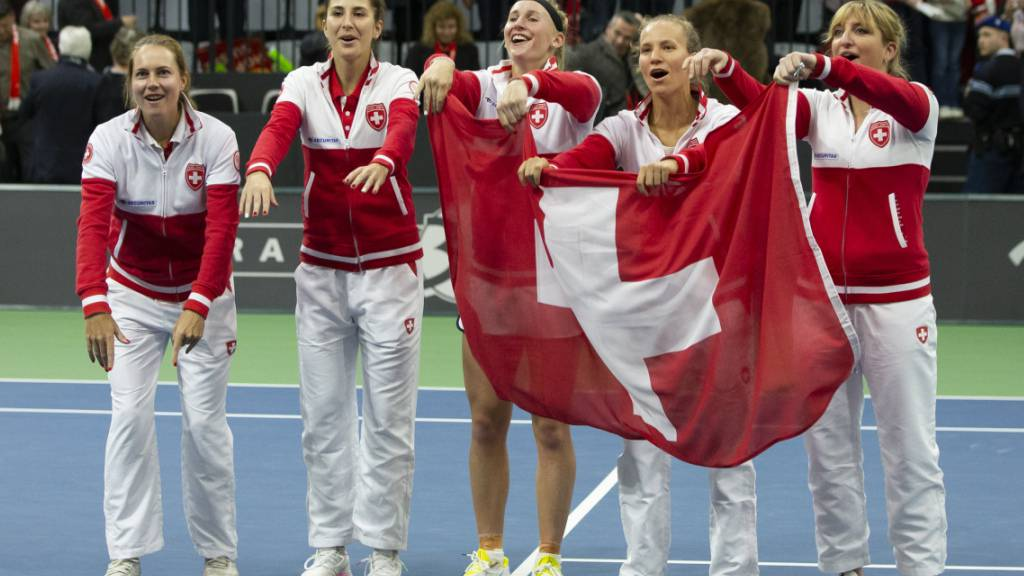 Im Februar 2020 qualifizierte sich die Schweizer Mannschaft für das Finalturnier: Damals hiess der Wettbewerb noch Fed Cup und der Event war im April in Budapest terminiert